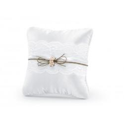 Žiedų pagalvėlė, balta, 16...