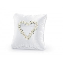 Žiedų pagalvėlė, balta, 20...