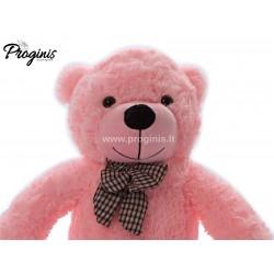 Rožinis meškiukas 80 cm TEDDY