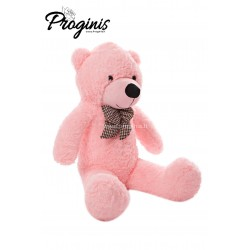 Rožinis meškiukas 100 cm TEDDY