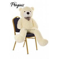 Baltas meškiukas 140 cm TEDDY