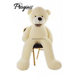 Baltas meškiukas 200 cm TEDDY